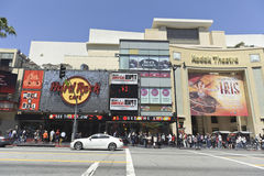 Caminata de Hollywood de estrellas en Los Ángeles Fotografía de archivo libre de regalías