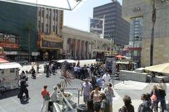 Caminata de Hollywood de estrellas en Los Ángeles Foto de archivo libre de regalías