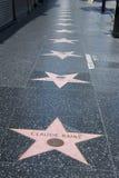 Caminata de Hollywood de la fama Fotografía de archivo