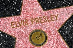 Caminata de la fama, Los Ángeles, Estados Unidos de Hollywood Foto de archivo libre de regalías