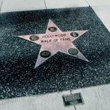 Caminata de la fama, Los Ángeles, Estados Unidos de Hollywood foto de archivo
