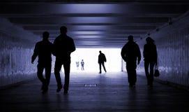 Caminata de la gente Foto de archivo libre de regalías