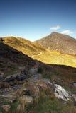 Caminata de la montaña imágenes de archivo libres de regalías