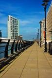 Caminata de la orilla en Liverpool Imagenes de archivo