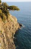 Caminata de los amantes de Cinque Terre Foto de archivo libre de regalías