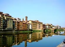 Caminata del agua de Florencia, Italia imágenes de archivo libres de regalías