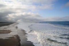 Caminata del océano fotografía de archivo