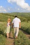 Caminata del verano Imagen de archivo