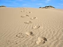 Caminata en el desierto Imagen de archivo libre de regalías