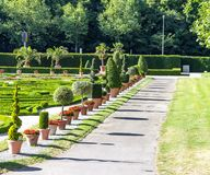 Caminata en el jardín Imagen de archivo libre de regalías