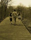 Caminata junto Fotos de archivo