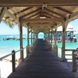 Caminata a la playa Imagen de archivo