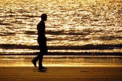 Caminata sola Fotos de archivo