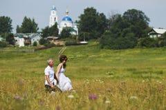 Caminata Wedding Imagenes de archivo