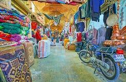 Camine en el mercado de Mesgarha de Shiraz, Irán Imagen de archivo
