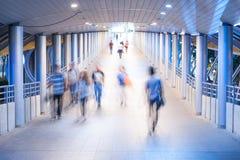 Camine en la luz Foto de archivo libre de regalías