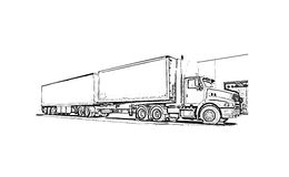 Caminhão Imagens de Stock