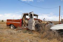 Caminhão abandonado fotos de stock royalty free