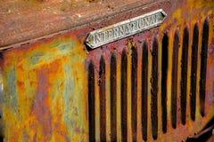 Caminhão agrícola do vintage cerca do elemento de 1931 projetos Fotografia de Stock