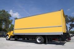 Caminhão amarelo Fotografia de Stock Royalty Free