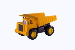Caminhão amarelo Foto de Stock