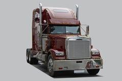 Caminhão americano Imagem de Stock Royalty Free
