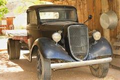 Caminhão americano do vintage imagens de stock