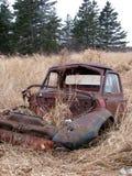Caminhão antigo de V8 do baixio fotografia de stock royalty free