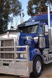 Caminhão australiano do trem de estrada Fotografia de Stock