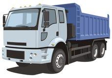 Caminhão basculante ilustração do vetor