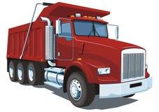Caminhão basculante Fotografia de Stock