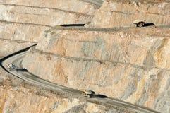 Caminhão basculante da mineração imagens de stock royalty free