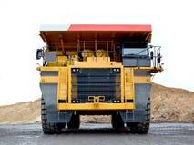 Caminhão basculante pesado para o transporte dos bens em uma pedreira Fotos de Stock Royalty Free