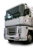 Caminhão branco Foto de Stock Royalty Free