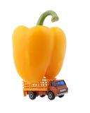 Caminhão carregado Imagens de Stock