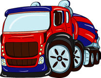 Caminhão da agitação Imagem de Stock Royalty Free