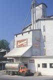 Caminhão da alimentação em South Bend DENTRO Foto de Stock Royalty Free