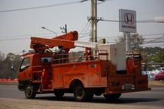 Caminhão da autoridade provincial do eletricity de Tailândia imagem de stock