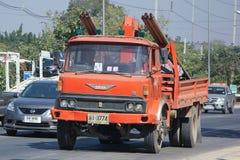 Caminhão da autoridade provincial do eletricity de Thailands foto de stock royalty free