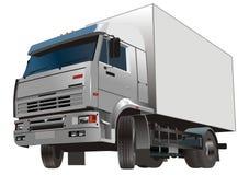 Caminhão da carga Fotografia de Stock Royalty Free