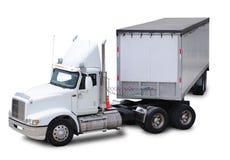 Caminhão da carga. foto de stock