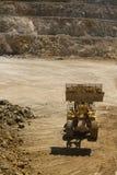 Caminhão da carga da escavadora Foto de Stock