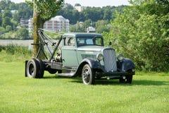 Caminhão da cidade do vintage Fotos de Stock Royalty Free