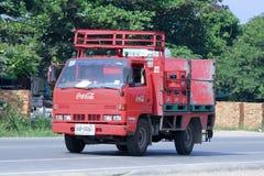 Caminhão da coca-cola Foto de Stock Royalty Free
