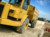 Caminhão da construção no local Imagem de Stock Royalty Free