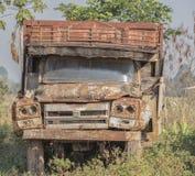Caminhão da destruição Imagens de Stock Royalty Free