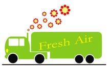 Caminhão da ecologia Fotos de Stock