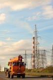 Caminhão da energética Fotografia de Stock