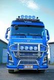 Caminhão da madeira de Volvo FH16 750 de M Sjolund Trans Imagem de Stock