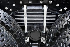 Caminhão da mola de lâmina Foto de Stock Royalty Free